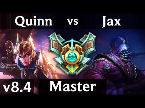 QUINN vs JAX (TOP) // Korea Master // Patch 8.4