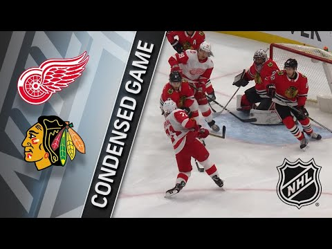 01/14/18 Condensed Game: Red Wings @ Blackhawks