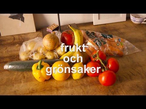 Tiếng Thụy Điển bài 25: Tôi mua rất nhiều đồ