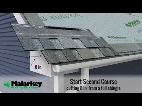 How To Install Laminate Architectural Shingles By Malarkey Roofing Products