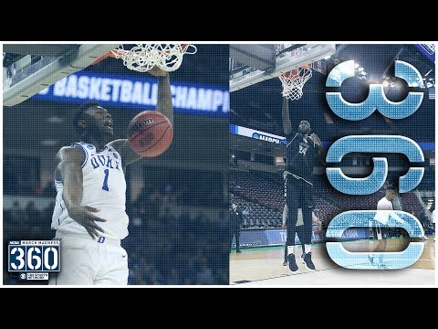 Who will DUNK on WHO, Zion or Tacko? | NCAA March Madness 360