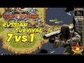 Red Alert 2 - Russian Survival Style - 7 vs 1