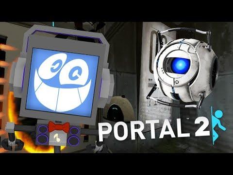 PORTAL 2 (PART 1) ► Fandroid the Musical Robot