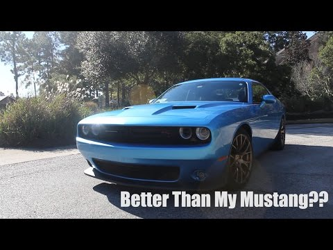 2016 Dodge Challenger Review: Better Than My Mustang?