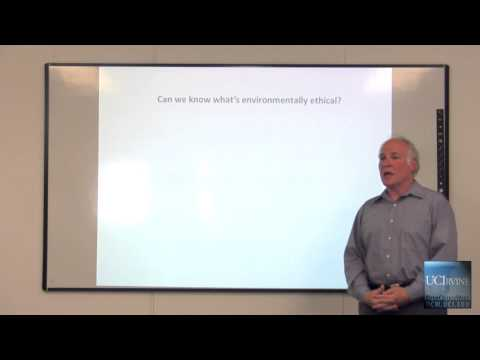 PPD 270 Environmental Ethics, Introduction to Environmental Ethics