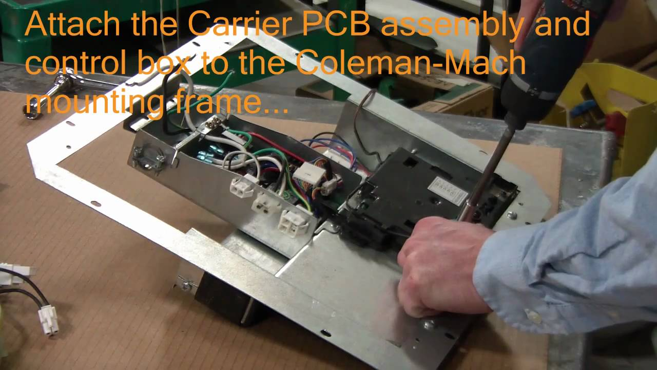 Ac Adapter Wiring Carrier To Coleman Mach Adapter Kits Wmv Youtube
