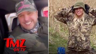 Luke Bryan Took Wife Caroline Duck Hunting and It Didn't Go Well | TMZ TV