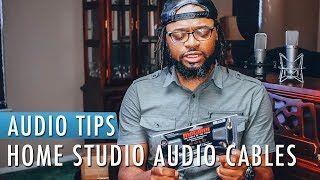 Home Studio Audio Cables Importance | Audio Tips Tuesday