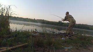 Ловля амура на мелководье в июле.