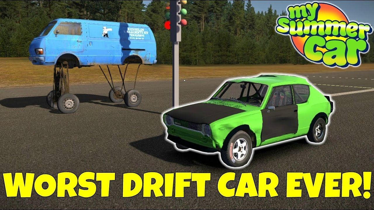 how to drive van my summer car