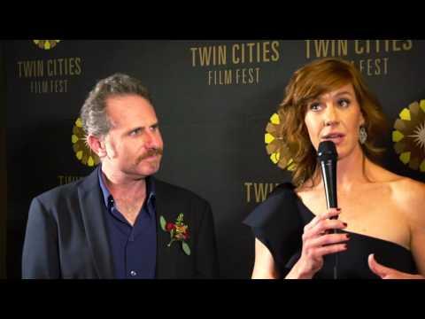 2016 TCFF Red Carpet Interview: Remy Auberjonois & Kate Nowlin, Blood Stripe