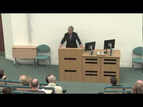 Rt Hon John Bercow MP gives lecture on Parliamentary Reform