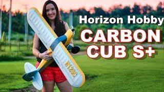 Self Landing RC Smart Plane - Abby Flies the HobbyZone Carbon Cub S+ - TheRcSaylors