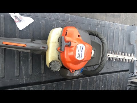 Mrs. Pattay's Performance Husqvarna 122HD45 Hedge Trimmer HOW TO INSTALL KILL SWITCH ACTION VIDEO