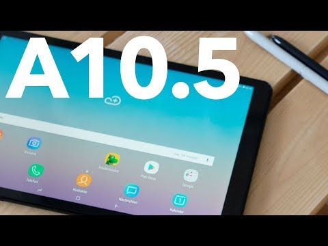 Samsung Galaxy Tab A 10.5 im Test: das Hands-on | deutsch