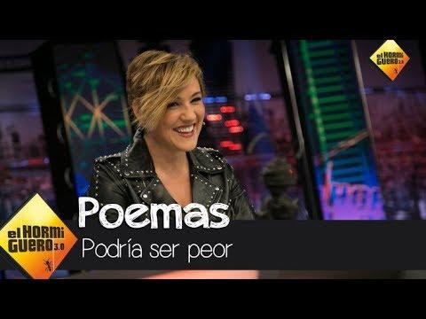 Los mejores poemas escritos por políticos españoles, por Cristina Pardo - El Hormiguero 3.0