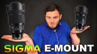 Лучшие объективы для Sony A7 III ? Обзор Sigma 85mm F1.4 и Sigma 50mm F1.4 Sony E-mount