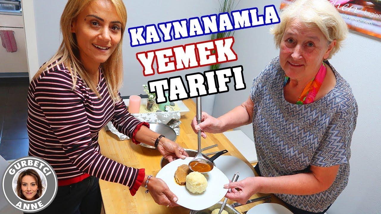 KAYNANAMLA YEMEK TARIFI - Alman usulü ANA YEMEK Kartoffelklöße Schmorbraten - Gurbetci Anne