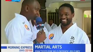 Martial arts practiced for self defence