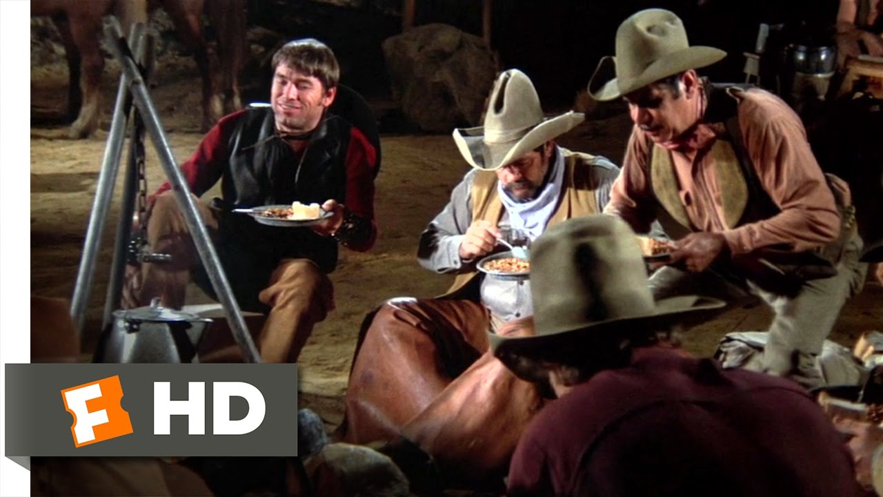 The Campfire - Blazing Saddles (5/10) Movie CLIP (1974) HD #1
