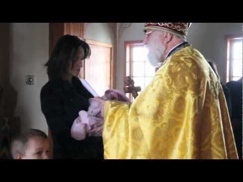 "Jan 6 2013 ""Churching of the Mother"" St. Elias Church, Brampton"