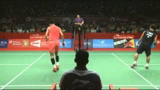 2015 bwf world championships qf chen long vs kento momota
