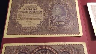 german and polish banknotes of world war ii wwii hyperinflation collection