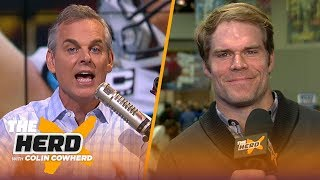 Greg Olsen talks pressures of the Super Bowl, Sean McVay being 'unique' & Tom Brady | NFL | THE HERD