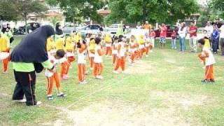 Sukan Tadika Orange 2011 - Senamrobik