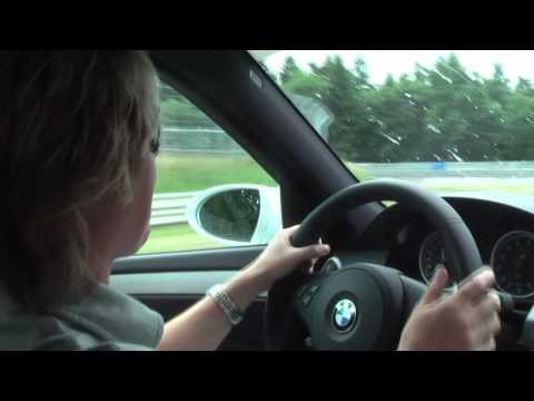 hd bmw m5 ringtaxi around the n rburgring with sabine. Black Bedroom Furniture Sets. Home Design Ideas