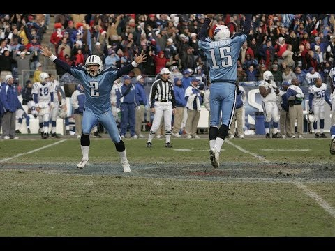 Titans Rewind: Tennessee Titans vs Indianapolis Colts December 3rd 2006