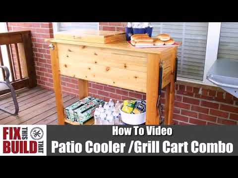 Plans For Wooden Patio Cooler