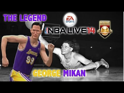 NBA Live 14 - (XB1) Ultimate Team - George Mikan Strikes | Fantasy Showdown Ep.7