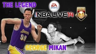 NBA Live 14 - (XB1) Ultimate Team - George Mikan Strikes | Fantasy Showdown Ep.7