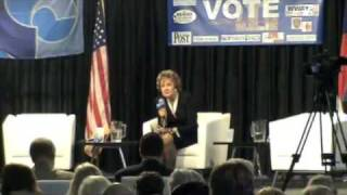 Elizabeth Dole fumbles question on constituency service