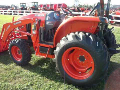 Kubota L Tractor With Kubota Loader