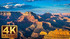 Grand Canyon National Park of Arizona - 4K Nature Documentary Film. Episode 1 - 1 Hour