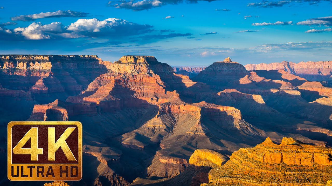 Grand Canyon National Park of Arizona - 4K Nature Documentary Film  Episode  1 - 1 Hour