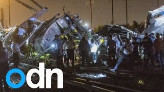 Amtrak train derails in Philadelphia, killing five