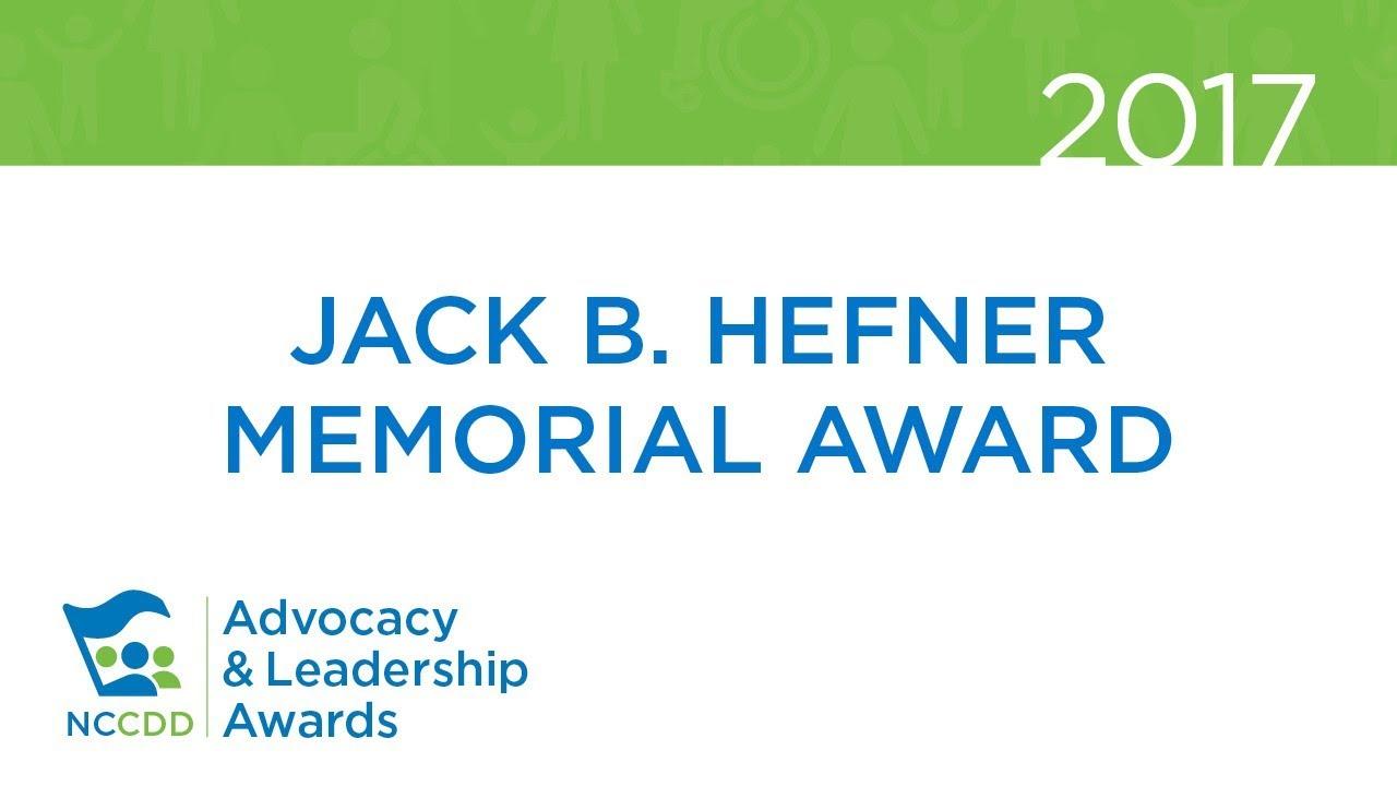 2017 Jack B. Hefner Memorial Award Recipient - Sherry Paul