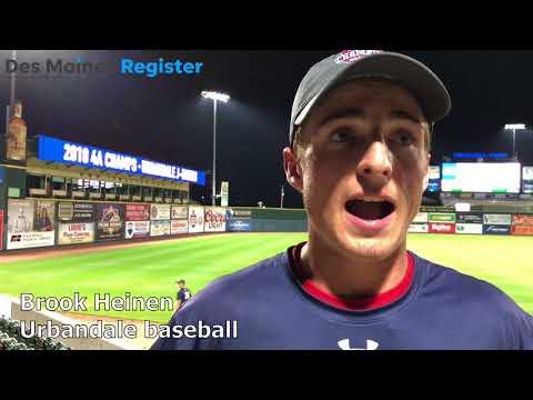 State Baseball: Urbandale's Brook Heinen battled cancer before the 2018 season