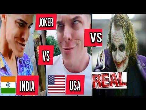 #Rizxtar#usa_joker Usa Joker VS Indian Joker VS Real Joker | Tiktok Joker | Inquiry TV