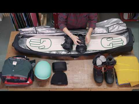 How To Pack A Snowboard Bag | Whitelines Snowboarding