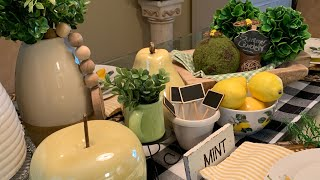 SUMMER TABLESCAPE DECOR | SUMMERTIME DECOR | SUMMER GARDEN DECOR | SUMMER DECOR | Episode 21
