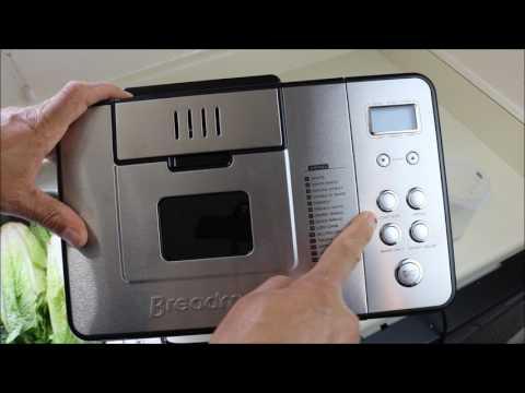 Bread Maker Machine-  Breadman 2lb Professional Stainless Steel BK1050S