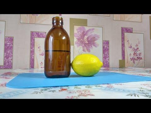 Лимон с глицерином средство от кашля бронхита