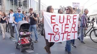 """10 Jahre Finanzkrise -Finance for the people- """"Brechen wir die Macht der Banken & Konzerne!"""" (attac)"""