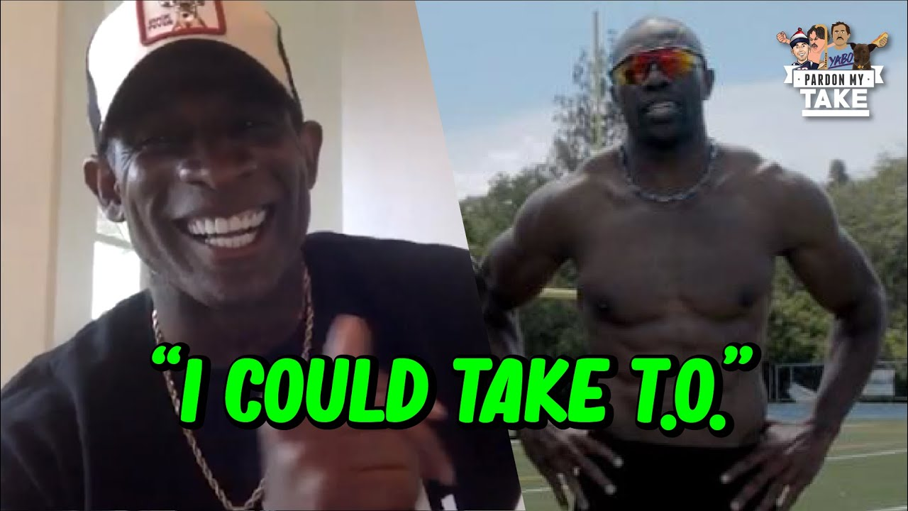 "Deion ""Primetime"" Sanders Says He could Beat Terell Owens in a 40 Yard Dash 