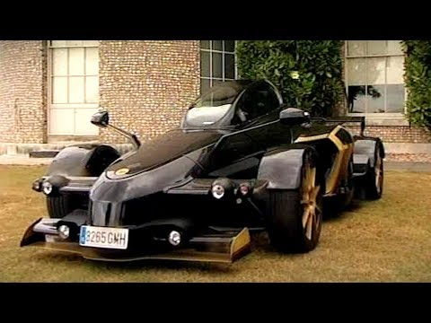 Testing The Strangest Car Ever Made: The Tramontana R Edition - Fifth Gear