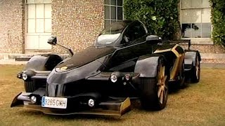 Testing The Strangest Car Ever Made The Tramontana R Edition Fifth Gear смотреть